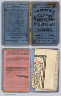 Covers: Railroad And County Map Of Alabama
