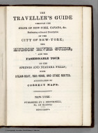 Title page: State Of New York, Canada, &c.