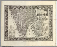 Miniature Plan of the City of New-York