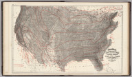Gray's Atlas Climatological Map of the United States Showing the Average Temperature, Amount of Rain Fall &c. by Loren Blodget, 1873.