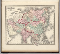 Gray's Atlas Map of Asia.