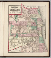 Gray's Atlas Map of Chicago.