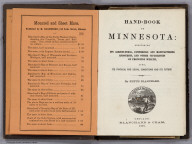 Title page: Hand-Book Of Minnesota