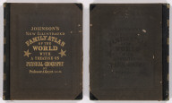 (Covers to) Johnson's New Illustrated Family Atlas Of The World ... With A Treatise On Physical Geography, By Prof. A. Guyot, LL.D., With Descriptions, Geographical, Statistical, And Historical. Revised By Hon. A.R. Spofford, LL.D., Librarian Of Congress. Also Including A Dictionary Of Religious Denominations, Sects, Parties, And Associations, Compiled By Professor Roswell D. Hitchcock, D.D., LL.D. ... New York: Alvin J. Johnson & Co., Publishers, 11 Great Jones Street (Near Broadway). MDCCCLXXXVI. Copyright, 1882, By A.J. Johnson.