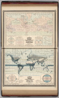 Johnson's World, Showing the Circulation of the Winds and the Course of Storms. By Prof. A. Guyot. Published by A. J. Johnson, New York. Johnson's World, Showing the Distribution of the Rain over the Globe By Prof. A. Guyot. Published by A. J. Johnson, New York. 11. 12. Entered according to the Act of Congress, in the year 1870, by A.J. Johnson in the Clerk's Office of the District Court of the United States for the Southern District of New York.