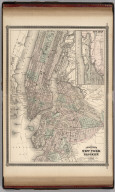 Johnson's New York (City) and Brooklyn. Published by Alvin J. Johnson & Co., New York. 40. 41. Entered according to the Act of Congress, in the year 1866, by A.J. Johnson in the Clerk's Office of the District Court of the United States for the Southern District of New York.