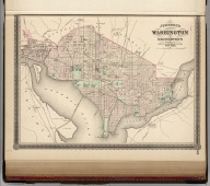 Johnson's Washington (D.C.) and Georgetown. Published by Alvin J. Johnson & Co., New York. Johnson's Delaware and Maryland. Published by A. J. Johnson, New York. 48. Entered according to the Act of Congress, in the year 1868, by A.J. Johnson in the Clerk's Office of the District Court of the United States for the Southern District of New York.
