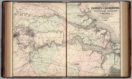 Johnson's Map of the Vicinity of Richmond and Peninsular Campaign in Virginia. Showing also the interesting localities along the James, Chickahominy and York Rivers. Compiled from the Official Maps of the War Department. Published by Alvin J. Johnson & Co., New York. 49. 50. Entered according to the Act of Congress, in the year 1862, by A.J. Johnson in the Clerk's Office of the District Court of the United States for the Southern District of New York.