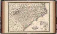Johnson's North Carolina and South Carolina. Published by Alvin J. Johnson & Co., New York. 51. 52. Entered according to the Act of Congress, in the year 1865, by A.J. Johnson in the Clerk's Office of the District Court of the United States for the Southern District of New York.