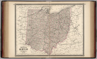 Johnson's Ohio. Published by Alvin J. Johnson & Co., New York. 62. 63. Entered according to the Act of Congress, in the year 1864, by A.J. Johnson in the Clerk's Office of the District Court of the United States for the Southern District of New York.