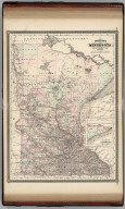 Johnson's Minnesota. Published by Alvin J. Johnson & Co., New York. 74. 75. Entered according to the Act of Congress, in the year 1869, by A.J. Johnson in the Clerk's Office of the District Court of the United States for the Southern District of New York.