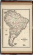 Johnson's South America. Published by A. J. Johnson, New York. 85. 86. Entered according to the Act of Congress, in the year 1864, by A.J. Johnson in the Clerk's Office of the District Court of the United States for the Southern District of New York.
