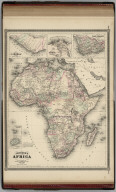 Johnson's Africa. Published by Alvin J. Johnson & Co., New York. 116. 117. Entered according to the Act of Congress, in the year 1864, by A.J. Johnson in the Clerk's Office of the District Court of the United States for the Southern District of New York.