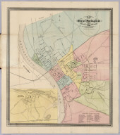 Map of the City of Springfield Mass.