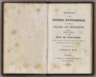 Title Page: Thirty Miles round the City of New York