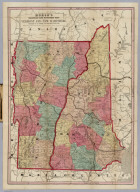 Map Of Vermont And New Hampshire