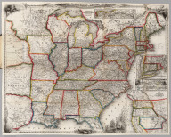 A New Map For Travelers Through the United States of America