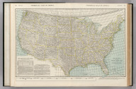 Commercial Atlas of America. Rand McNally Standard Parcel Post Map of the United States.