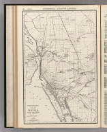 Commercial Atlas of America. Rand McNally 14 x 21 Inch Map of Buffalo and Vicinity.