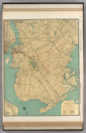 Commercial Atlas of America. Rand McNally Standard Map of Brooklyn.