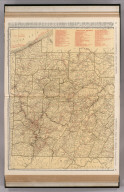 Commercial Atlas of America. Rand McNally Standard Map of Pennsylvania, Western Section.