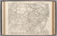 Auto Trails Map. Pennsylvania, New Jersey, Southern New York, Northern Delaware, Northern Maryland, Northern Virginia, North East W. Virginia.