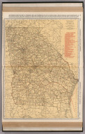 Commercial Atlas of America. Rand McNally Standard Map of Georgia.