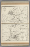 Commercial Atlas of America. Rand McNally 14 x 21 Inch Map of Cleveland and Vicinity. Rand McNally 14 x 21 Inch Map of Cincinnati and Vicinity.