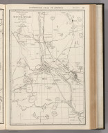 Commercial Atlas of America. Rand McNally 14 x 21 Inch Map of Minneapolis and Vicinity.