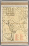 Commercial Atlas of America. Rand McNally Standard Map of Texas (Western Section).