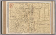 Commercial Atlas of America. Rand McNally Standard Map of Colorado.