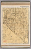 Commercial Atlas of America. Rand McNally Standard Map of Nevada.