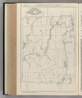 Commercial Atlas of America. Rand McNally Black and White Mileage Map, Wyoming.