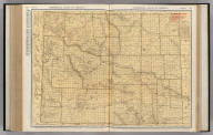 Commercial Atlas of America. Rand McNally Standard Map of Wyoming.