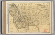 Commercial Atlas of America. Rand McNally Standard Map of Montana.