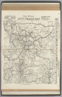 Commercial Atlas of America. Rand McNally Auto Trails Map, District No. 13. Montana, Wyoming, N.W. Colorado, East. Idaho, Nor. Utah, N.E. Nevada.