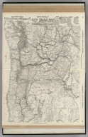 Commercial Atlas of America. Rand McNally Auto Trails Map, District No. 14. Washington, Oregon, Nor. California, Western Idaho.