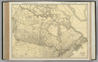 Commercial Atlas of America. Rand McNally Standard Map of Dominion of Canada.