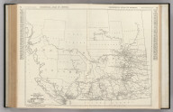 Commercial Atlas of America. Rand McNally Black and White Mileage Map, Alberta and British Columbia.