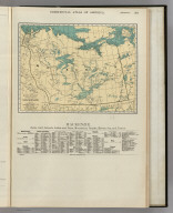 Commercial Atlas of America. Rand McNally Popular Map of Mackenzie.