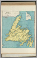 Commercial Atlas of America. Rand McNally Standard Map of Newfoundland. (with) Labrador.