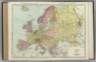Commercial Atlas of America. Rand McNally Standard Map of Europe.
