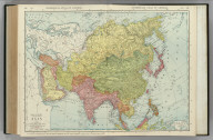Commercial Atlas of America. Rand McNally Standard Map of Asia.