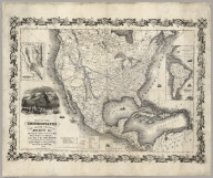 Map Of The United States The British Provinces Mexico