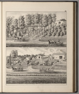 View: Residences of Alexander Roberts, G.Y. Smith.