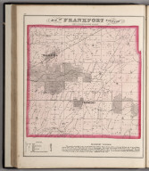 Frankfort Township, Town 35 North Range 12 East, Will County, Illinois.