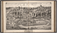 View: Fair Grounds of the Will County Agricultural and Mechanical Association, Joiliet, Illinois.