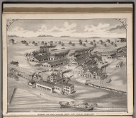View: Works of the Joliet Iron and Steel Company.