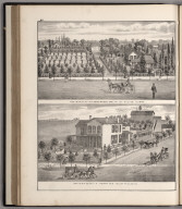 View: Residences of Jas. Goodspeed, J.A. Henry.