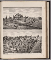 View: Residences of W.H. Olny, Henry A. Makepeace.
